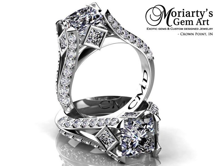 Tmx 1390945059519 Cmdengagement Crown Point wedding jewelry