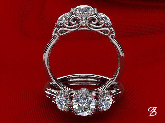 Tmx 1390945239261 Chrismoriartyengagement Ring Desig Crown Point wedding jewelry