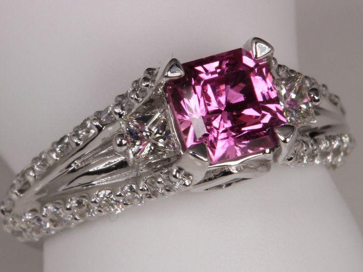Tmx 1390945596995 Sapphire Engagemen Crown Point wedding jewelry