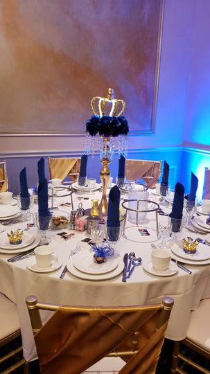 Custom table settings/