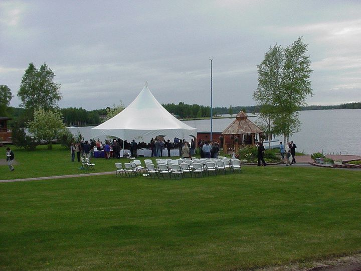 Tent rental for wedding