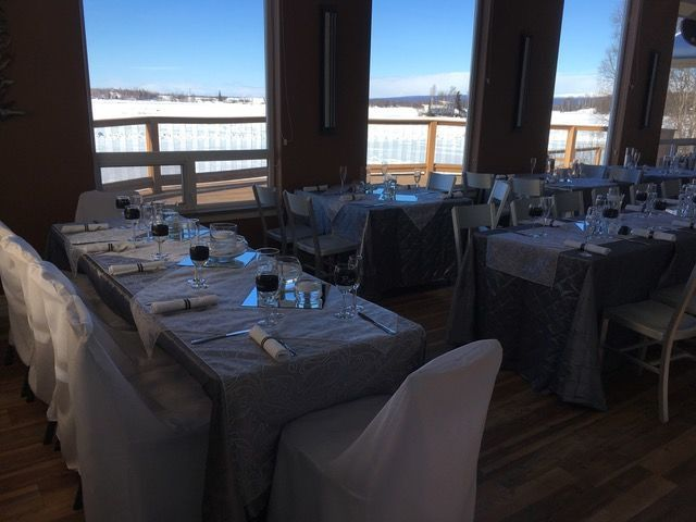 Winter reception in the Boat House Banquet Room