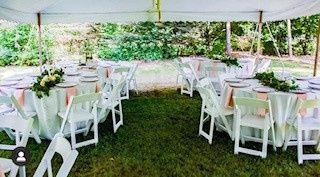 White Wedding Garden Chairs