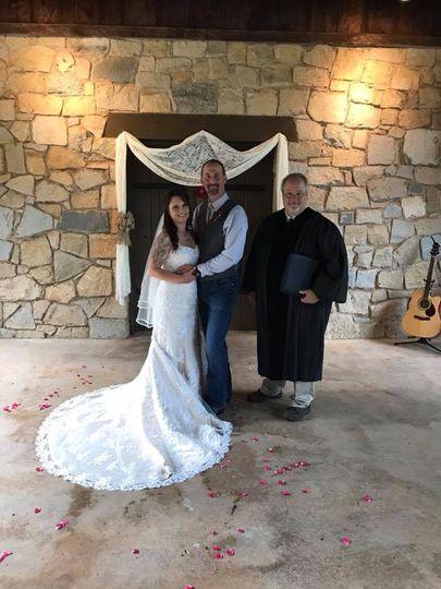 Arctic Wedding Minister