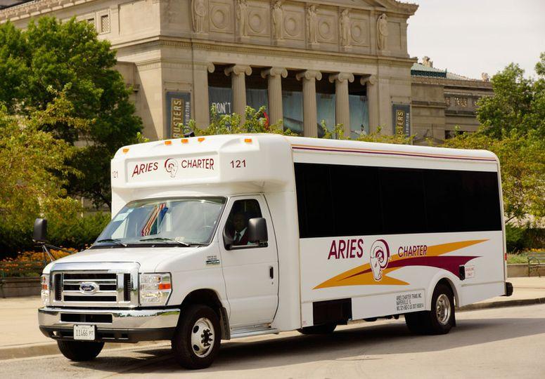 25 passenger mini-bus
