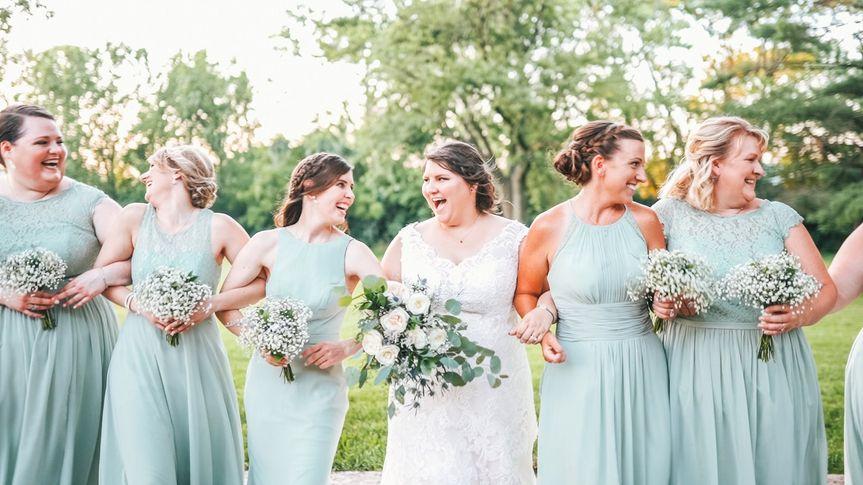 Liz and Bridesmaids