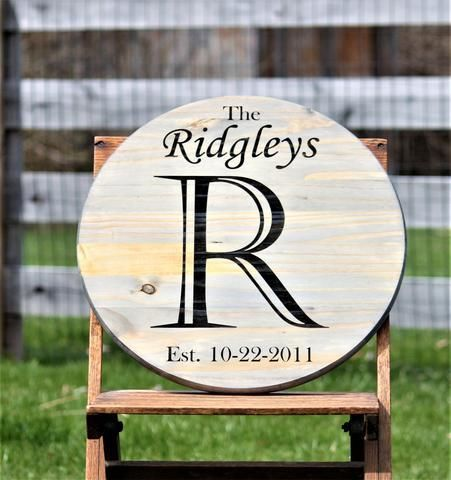 Beautiful Engraved Wood Welcome Sign- Make a Great First Impression as low as $65