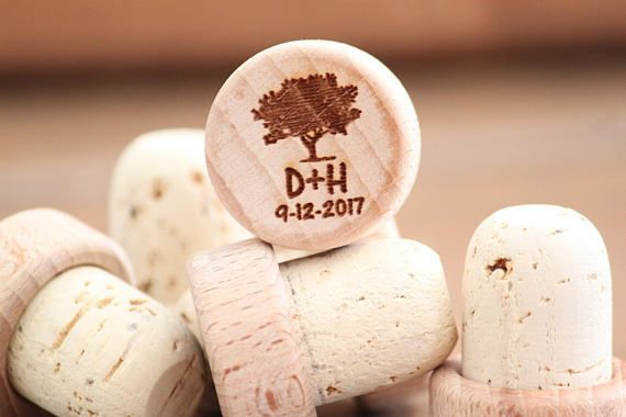Combine a Rustic, Natural feel and Simple elegance with our engraved Wine Stoppers, the perfect...