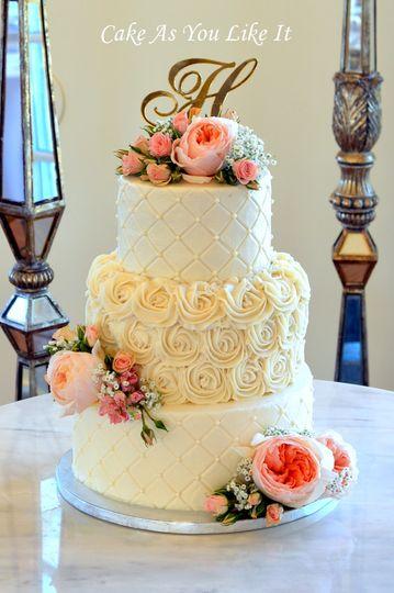 Cake As You Like It - Wedding Cake - Ashburn, VA - WeddingWire