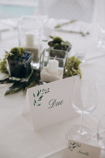 The guest table