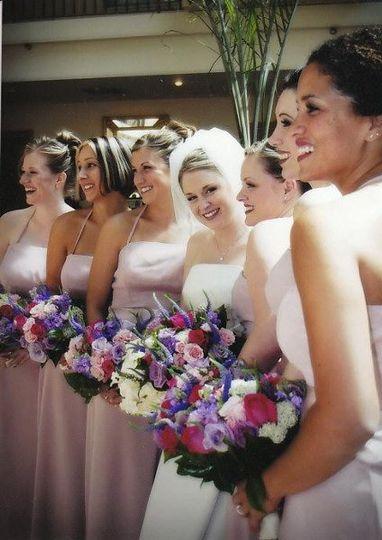 Bride and bridemadis