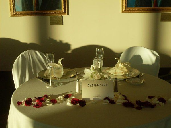 Couple's Sweetheart Table