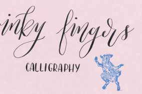 Inky Fingers Calligraphy