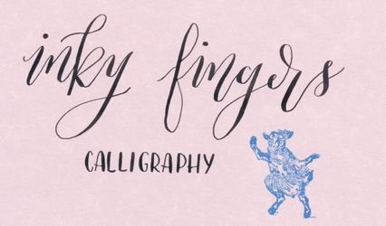 Inky Fingers Calligraphy