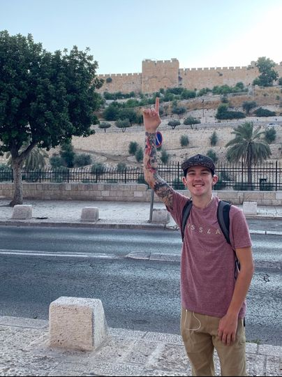 A shot of DJ Inked In Israel