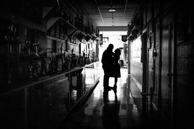 Holy Cross High School black and white  - Alexzandra Robertson Photography