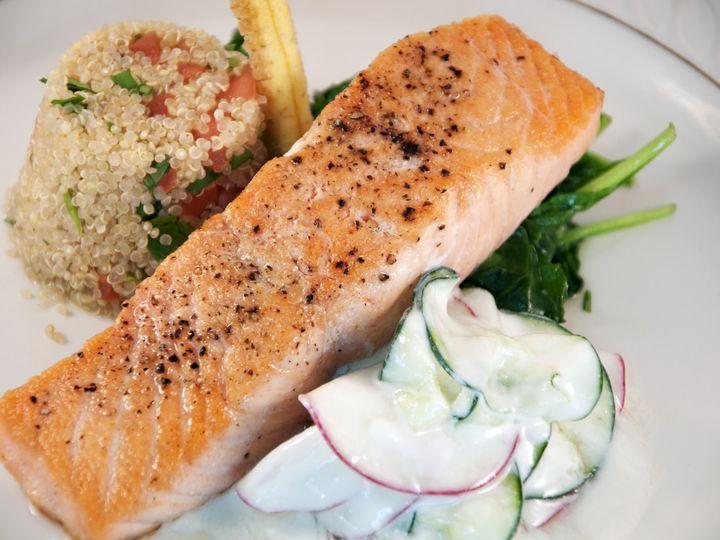 Tmx Pan Seared Salmon 51 791461 1560953289 Montgomery, TX wedding catering