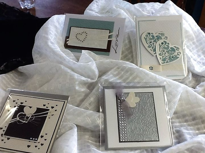 Assorted Wedding Cards Prices based on design. Color choices.