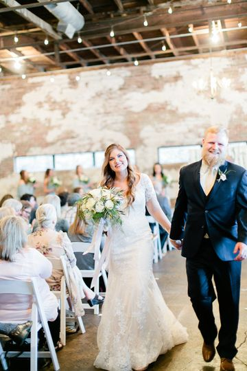 Wedding walk | Photo by Christine Bonnivier Photography