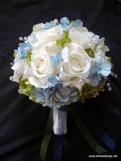 Roses and Hydrangea