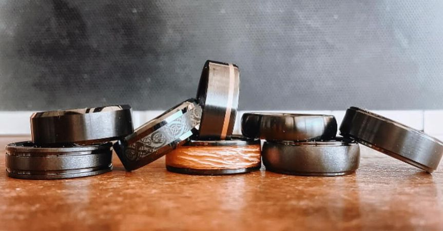 Large Selection of Mens Bands