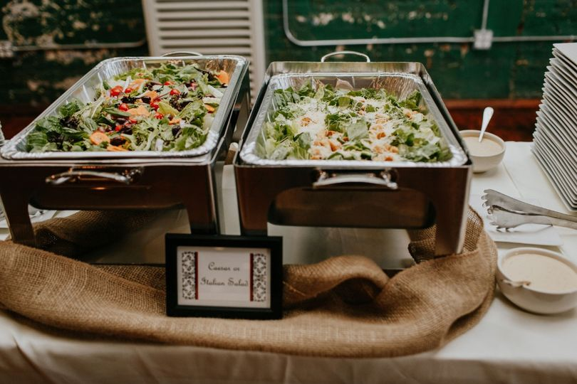 Italian and Cesar Salads