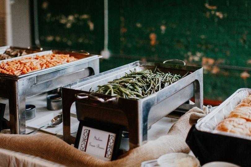 Pasta and Italian Green Beans