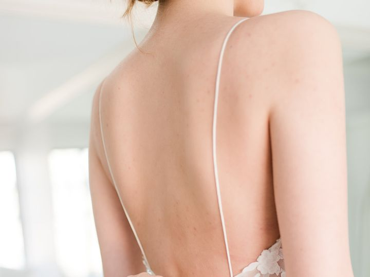 Tmx  Bap3860 Websize A Little Something White Bridal Close Up Zipping Vertical 51 546461 160045795156903 Darien, CT wedding dress