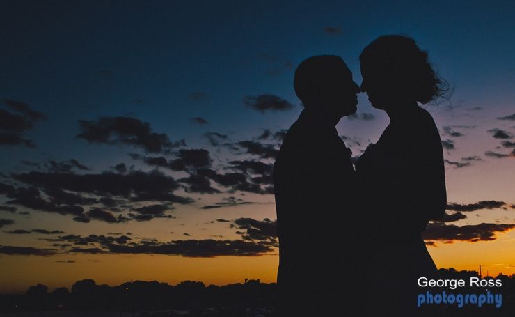 Intimacy at Sunset