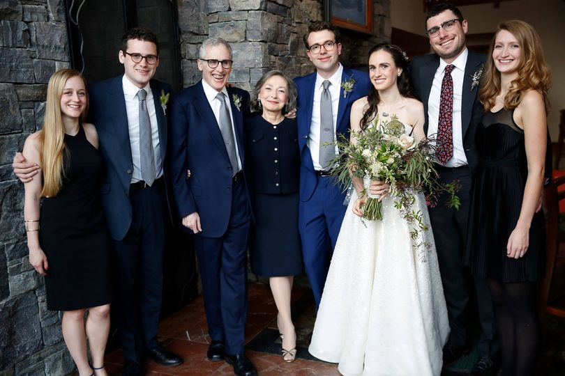 Family of the newlyweds