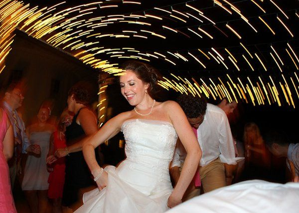 Nicole dancing to her personal requests she gave to PartyTyme before the wedding reception!