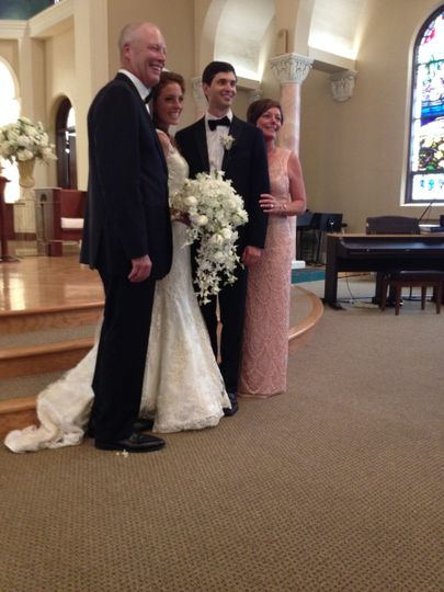 With newlyweds