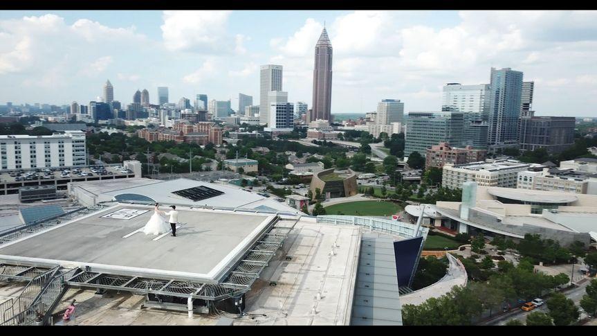 Aerial shot - Covington Films