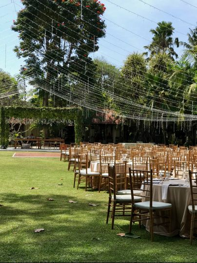 A gorgeous outdoor venue