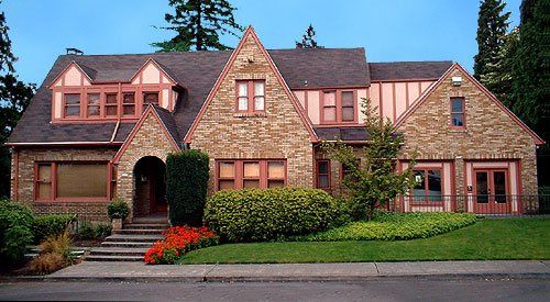 Welcome to the Historic Overlook House.  Our handsome brick and stucco Tudor residence built in 1927...