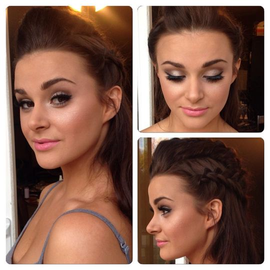 Airbrush Makeup by Amber Silva on Gorgeous client Errin!