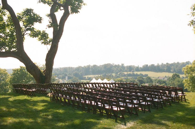 chairs set up