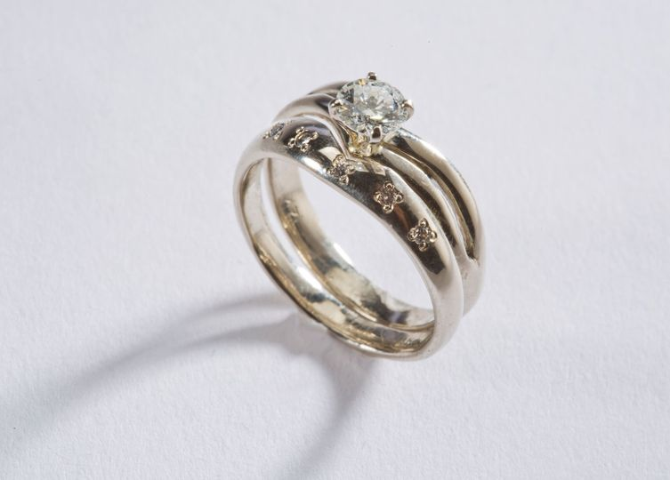 Carly's Bridal Celebratory Ring:  $4,300.00-$9,900.00  This ring has a story behind it.  It took...