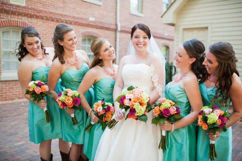 Wedding at the College of William & Mary Alumni House