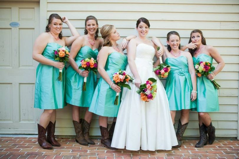 Wedding at William & Mary Alumni House