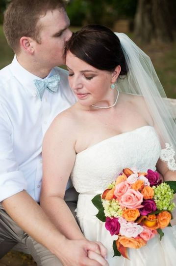 Wedding at College of William & Mary Alumni House