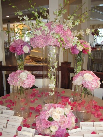 Escort Card Table @ Saphire Estate