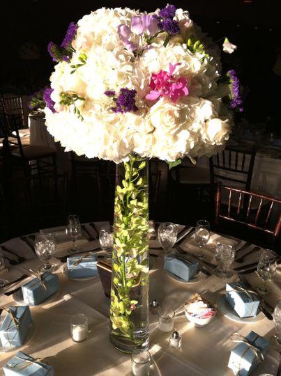 Big floral arangement