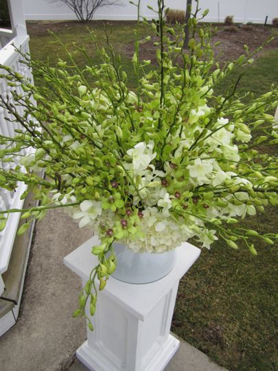 Outdoor Ceremony Arrangement - The Villa