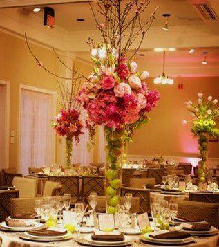 Tmx 1343307447965 WeddingReceptionCenterpieces4 Mansfield wedding florist