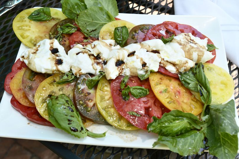Tomato, Burrata, 25yr Balsamic