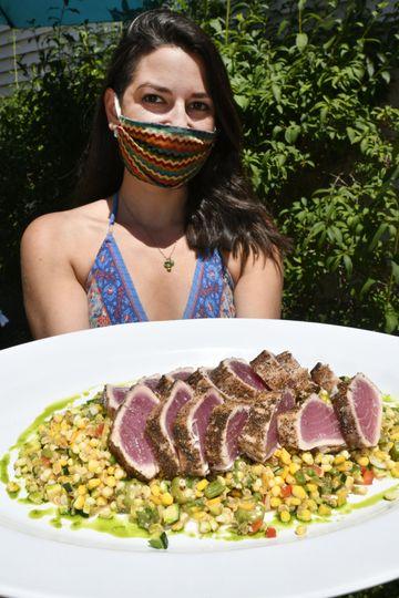 Montauk Tuna, Summer Succotash