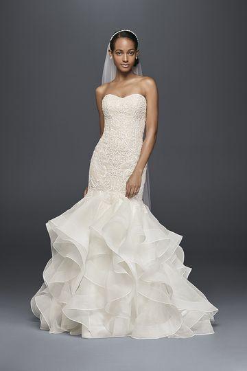 Oleg cassini reviews ratings wedding dress attire for Wedding dresses huntsville al