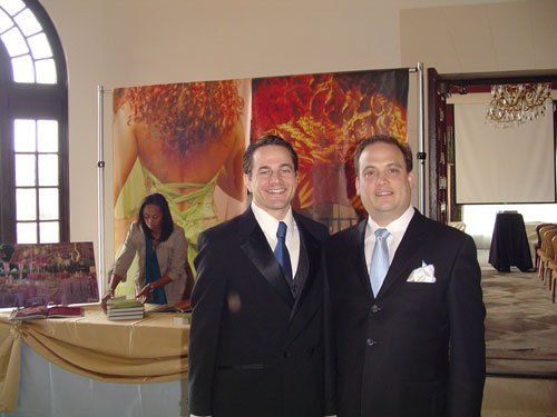 DJ Jeff and Bob Wyar from Riviera Country Club n Pacific Palisades, CA. Jeff and DJ Peace provided...