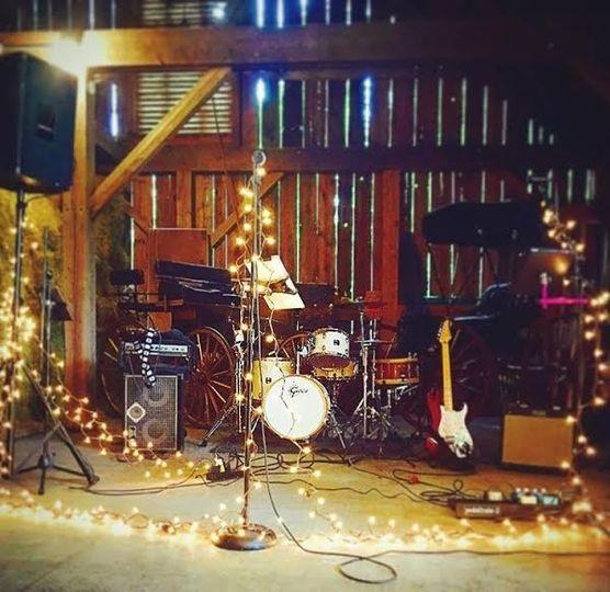 Rustic band set up